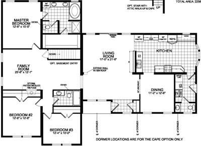 Bungalow 768 Floorplan Image