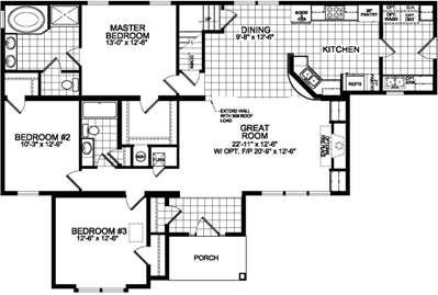 Bungalow 799 Floorplan Image